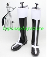 Bleach Ulquiorra cifer cos Cosplay Boots Shoes shoe boot long ver #15YJZ38 - $65.00