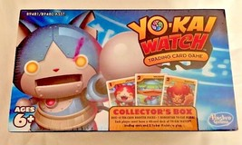 YO-KAI WATCH Trading Card Game Collectors Box...4 Booster Packs...Yo-kai... - $4.94