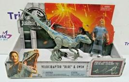 2018 Jurassic World Velociraptor Blue & Owen Figure - $11.99