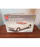 Vintage AMT 1953 Chevrolet Corvette 1/25 Model Kit 6519-NEW In Open Box - $17.47