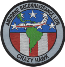 """4.25"""" Army Airborne Reconnaissance Low Crazy Hawk Embroidered Patch - $16.24"""