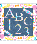ABC and Numbers 65a-Digital ClipArt-Candy-Fonts-Gift Tag-Background-Gift... - $1.99
