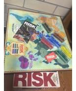 COMPLETE Vintage RISK Board Game No. 44 Parker Brothers World Conquest 1... - $27.80