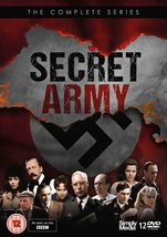 The Secret Army Complete BBC Series 1-3 DVD New *REGION 2 PLEASE READ LI... - $67.95