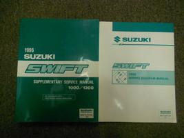 1996 Suzuki Swift Suplementario Cableado Servicio Reparar Tienda Manual OEM 96 - $33.42