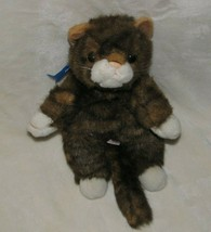 Ty Classic Spice Cat Beanie Baby Plush Stuffed Animal Brown Tabby Stripe... - $14.84