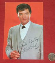 Elvis Presley Pâques 1969 Réplique Signature Photo Envoie Carte Inutilisé - $9.23