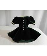American Girl Doll Molly Christma Holiday dress Evergreen Velvet 1996 Pl... - $22.79