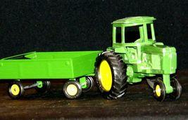 Ertl John Deere replica die-cast tractor with wagon AA19-1639 Vintage image 5