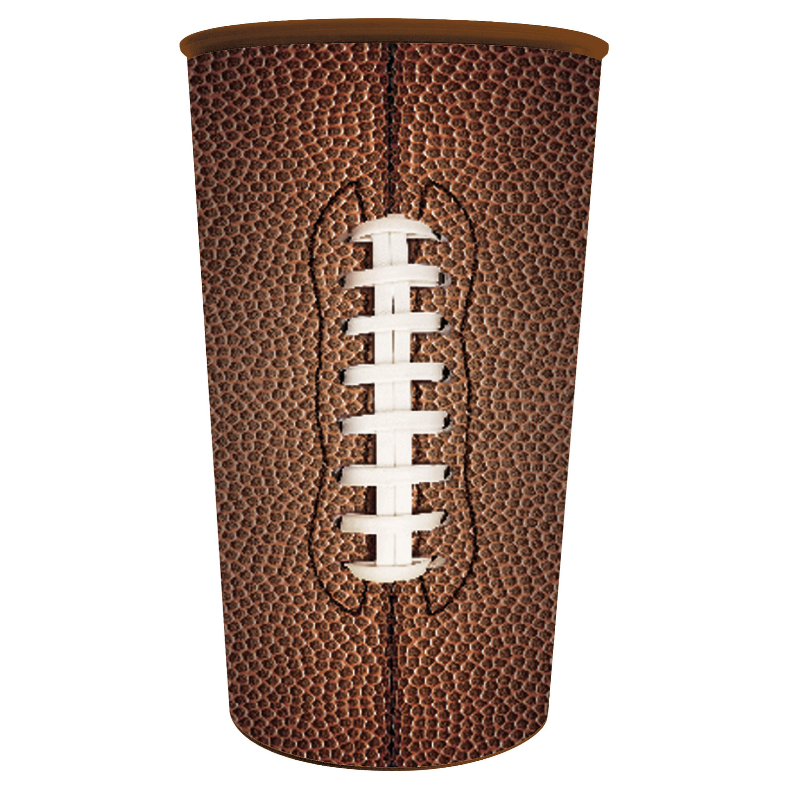 Football 22 oz Plastic Souvenir Cup/Case of 20