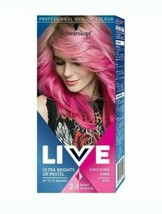 2 x Schwarzkopf Professional Live Intense Colours Hair Dye PINK - $25.18