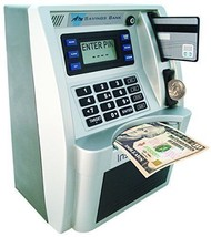 ATM Savings Bank Limited Edition Silver/Black Other Collectible Still Banks - $71.23