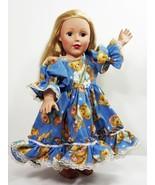 "Clothes American Handmade Blue N Dress 18"" Inch Girl Doll (52B4B34_17) - $19.79"