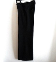 Ann Taylor LOFT Size 0 Black Wide Waistband Pants Career Wear Waitress - $20.21