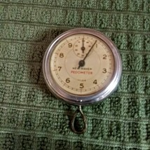 "Vintage Pre Owned Rare New Haven Metal Pedometer  1950""s  Not Tested image 1"