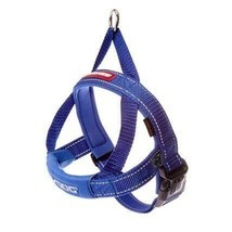 EzyDog QUICK FIT XLARGE BLUE HARNESS - $32.99