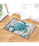 EZON-CH Modern Non Slip Watercolor Sea World Animal Home Bathroom Bath S... - $22.17