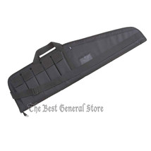 """Soft Sided 42"""" Tactical Gun Case Rifle Carrying Bag 5 Ammo Clip Pockets ... - $46.99"""
