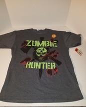 Zombie hunter mens short sleeve t shirt size halloween horror - $17.95
