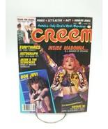 CREEM Magazine August 1985 Madonna Bon Jovi Tears for Fears Prince RARE - $91.82
