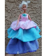 Layered Dress Clothes Gown for Doll • w defects • DRESS ONLY being sold ... - $12.07