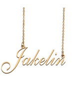 Jakelin Custom Name Necklace Personalized for Mother's Day Christmas Gift - $15.99+