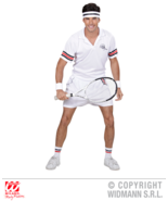 Small Adult's Tennis Player Costume #bdf - £27.28 GBP