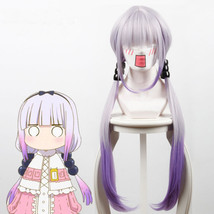 Miss Kobayashi's Dragon Maid Kamui Kanna Gradient Purple Cosplay Full Wig - $42.44