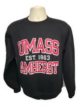 University of Massachusetts Umass Amherst est 1863 Adult Medium Black Sw... - $43.99
