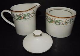 Wellesley Farberware #486  Creamer and Covered Sugar Bowl Katherine Baba... - $29.69
