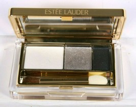 Estee Lauder Instant Intense Smoked Chrome Trio Eyeshadow Mirrored Compact - $29.69