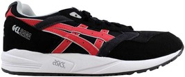 Asics Gel Saga Black/Burgundy 3M H437N 9025 Men's SZ 9.5 - $76.00