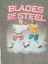 Vintage BLADES OF STEEL Men's Homage Single Stitch Graphic T-shirt Small... - $19.99