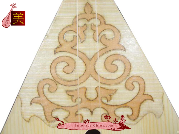 Uyghur Lute Silk Road String Musical Instrument World Music Dombura 90cm