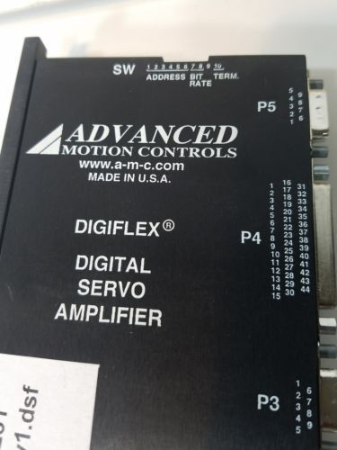 ADVANCED MOTION CONTROLS DIGIFLEX DIGITAL SERVO AMPLIFIER  DX15CT8-GE6 NIB