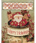 Tole Decorative Painting All Wrapped Up Corinne Miller Xmas Thanksgiving... - $12.82