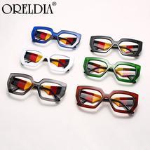 Fashion Polygonal Glasses Frame Women European And American Three-Color Frame Fl image 6
