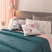 Deep Green Ultraslim Reversible Novo Comforter Twin Size Soft and Warm - $58.21