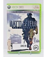 Battlefield Bad Company 2 Limited Edition (Microsoft Xbox 360) Complete ... - $7.70