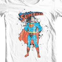 Superman Golden Age Tshirt DC comic justice league man of steel tee shirt SM1352 image 1