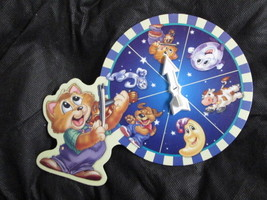 Milton Bradley Nursery Rhyme Game The Cat & the Fiddle replacement spinner board - $4.90