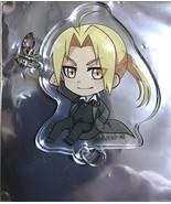 Fullmetal Alchemist Acrylic Keychain Strap Charm Edward Elric Black ver.... - $60.38