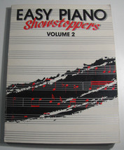 Easy Piano Showstoppers Volume 2 Song Book Vintage 1990 Karate Kid Cetera - $12.37