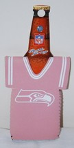 SEATTLE SEAHAWKS NFL PINK BOTTLE DRESS COOZIE KOOZIE KOLDER NEW - $6.92