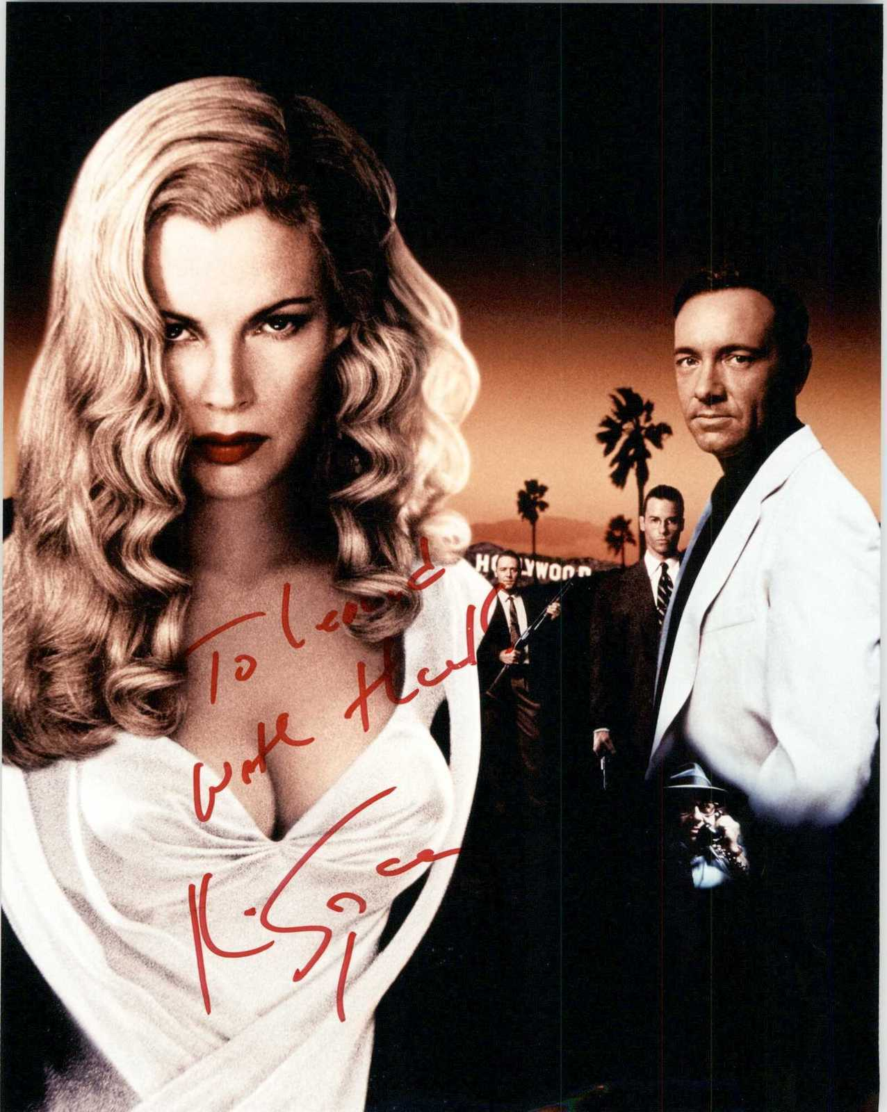"Primary image for Kevin Spacey Signed Autographed ""L.A. Confidential"" Glossy 8x10 Photo"