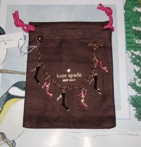 Kate Spade New York ~ SHOE IN CHARM BRACELET ~  New with Jewelry Bag - $57.67