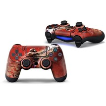 Sony PS4 Red Air Jordan (1) Controller Decal Vinyl Cover Skin Wrap Sticker - $7.80
