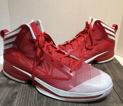 Adidas AS SMU Crazy Fast Promo Red/White Basketball Sneakers G66702 mens... - $93.49