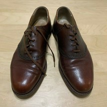 Mens Cole Haan 2 tone brown saddle oxford shoes  8D - $34.64