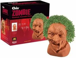 2014 Chia Pet Zombie Chia Decorative Planter Creepy Holden New - $18.60